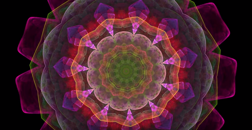 Here you go. Two hours of mellow to wrap up your busy day. The Splendor of Color Kaleidoscope Video v1.3