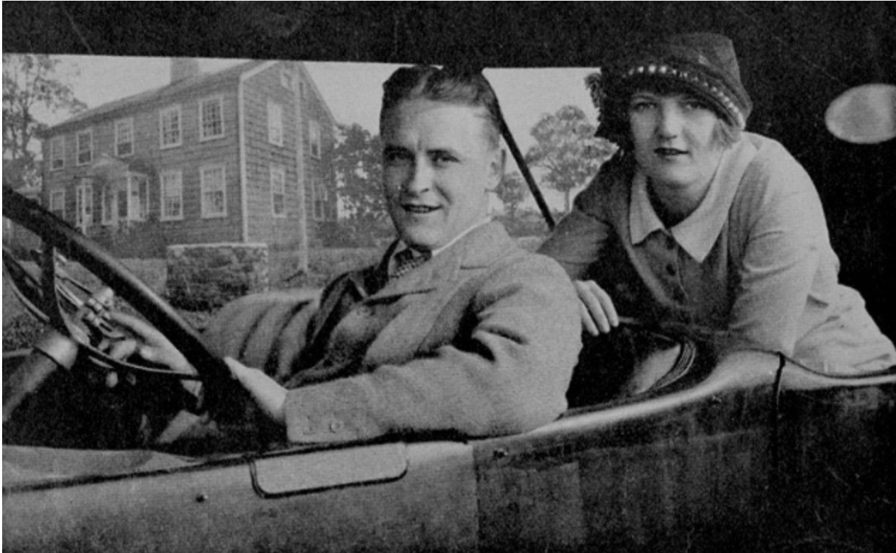 Zelda and F. Scott, 1920: Photograph courtesy of Princeton University Library