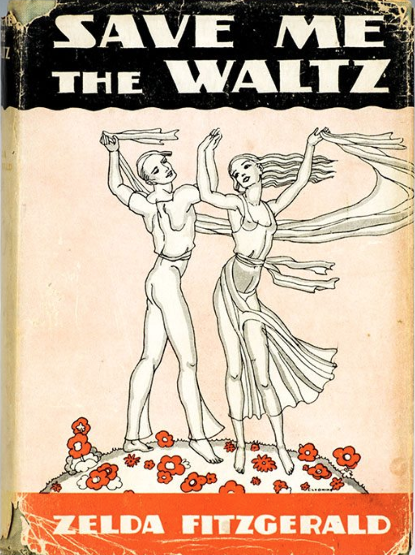 Save Me the Waltz Original Book Cover:  Photograph courtesy of Raptis Rare Books.