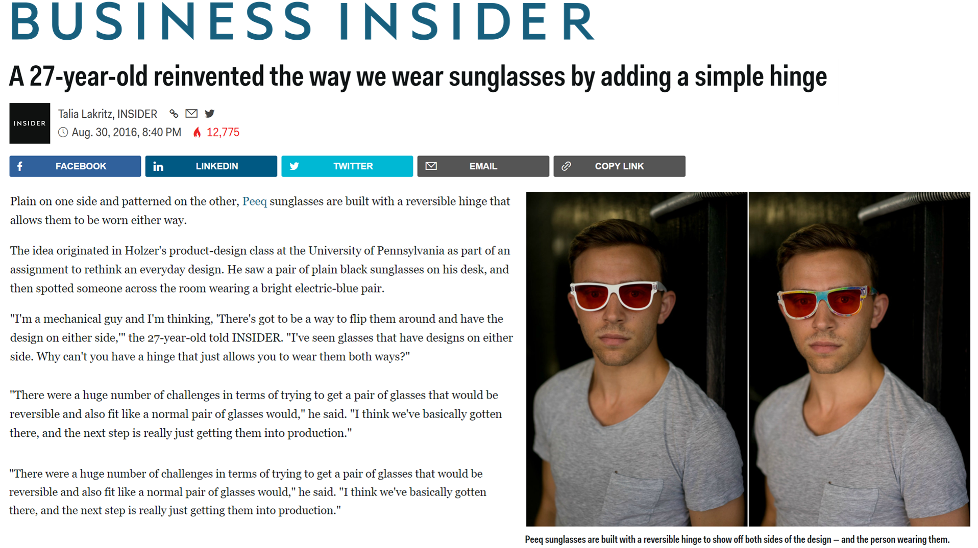 Full Article Available on Business Insider Here