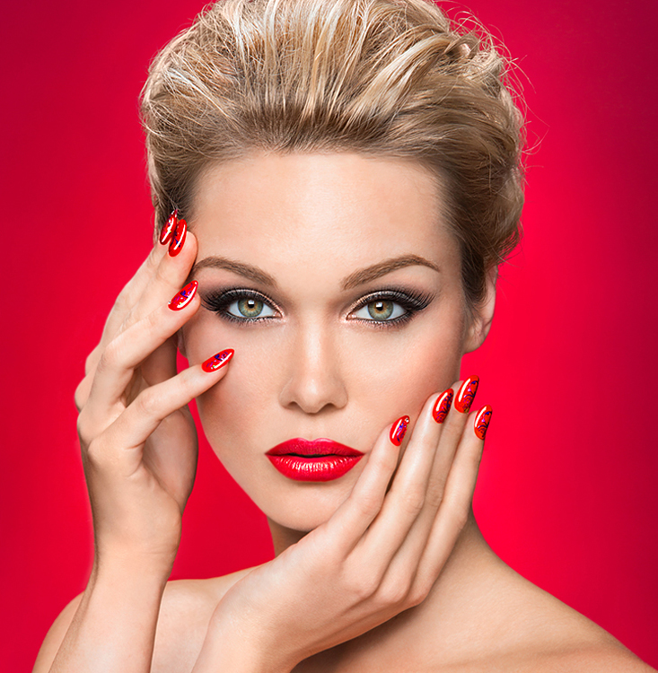 Make up and finger nails,fashion, beauty post production at Thomas Canny Retouching Studio px.jpg