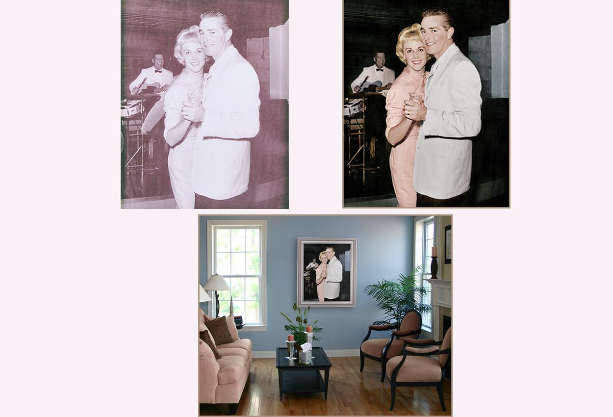 001_Restoration of Old Photo print on canvas at Thomas Canny Studio.jpg