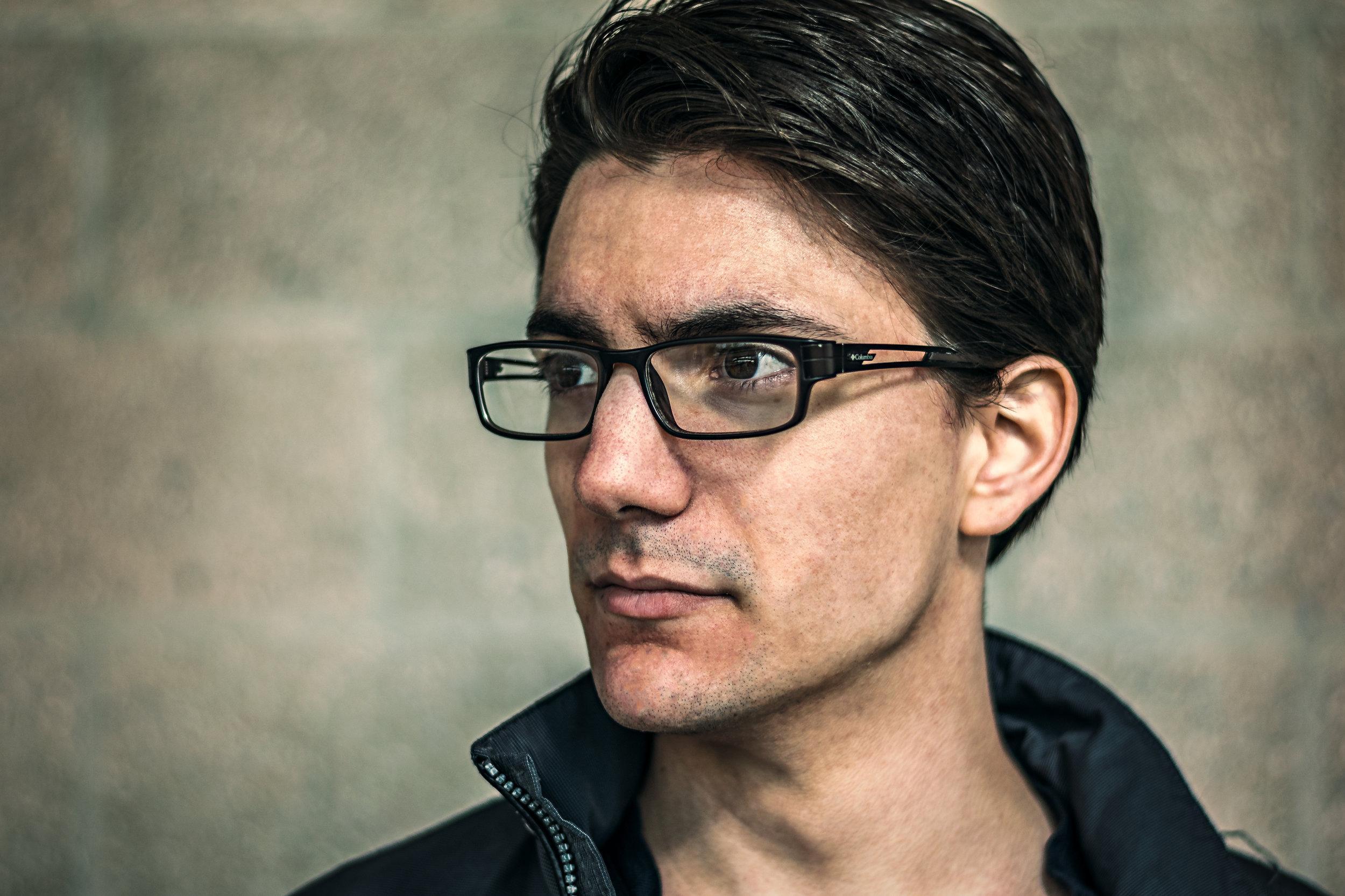 Dan Robidoux, photo by Marc Gravel