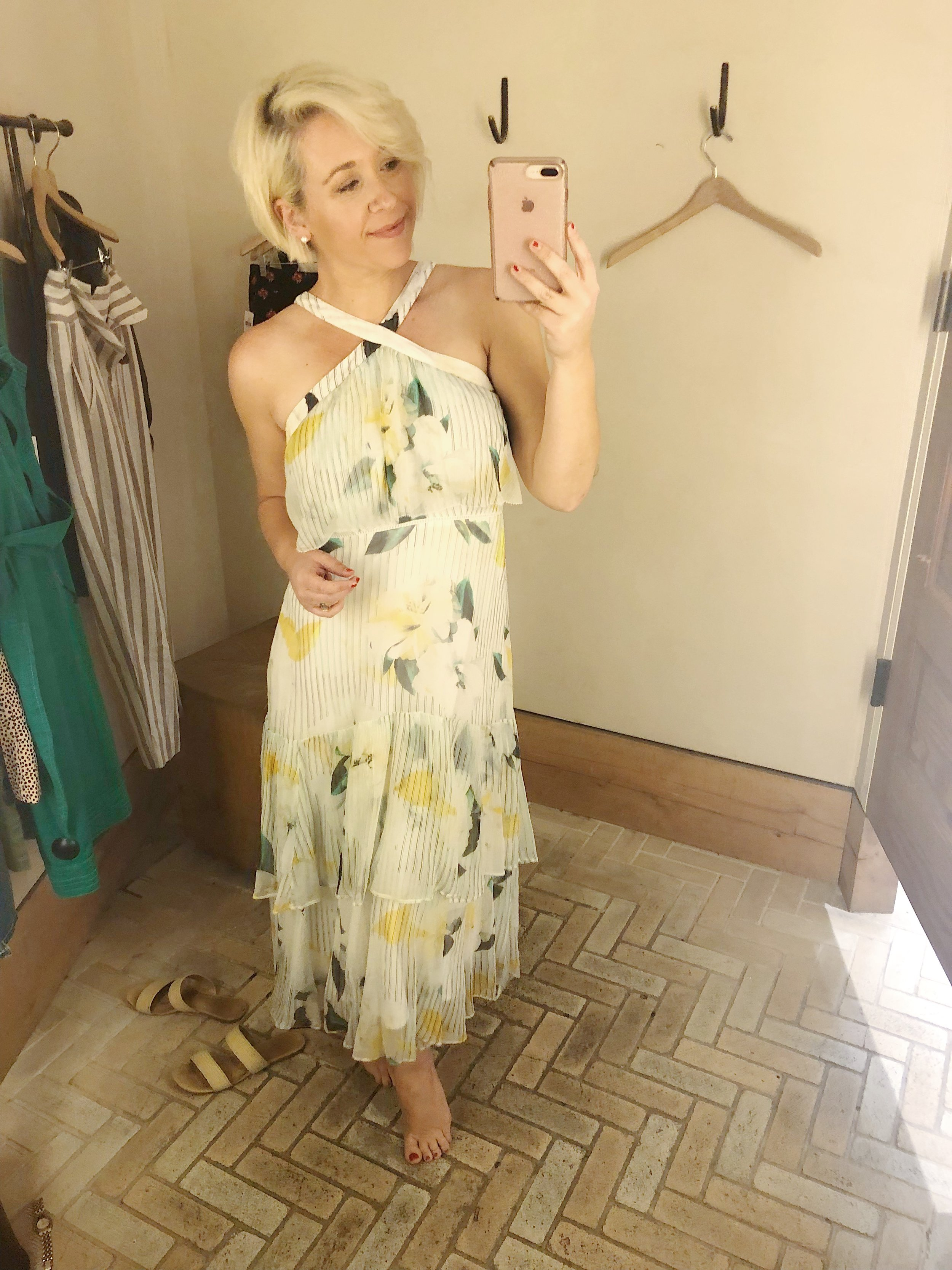 Anthropologie try on session