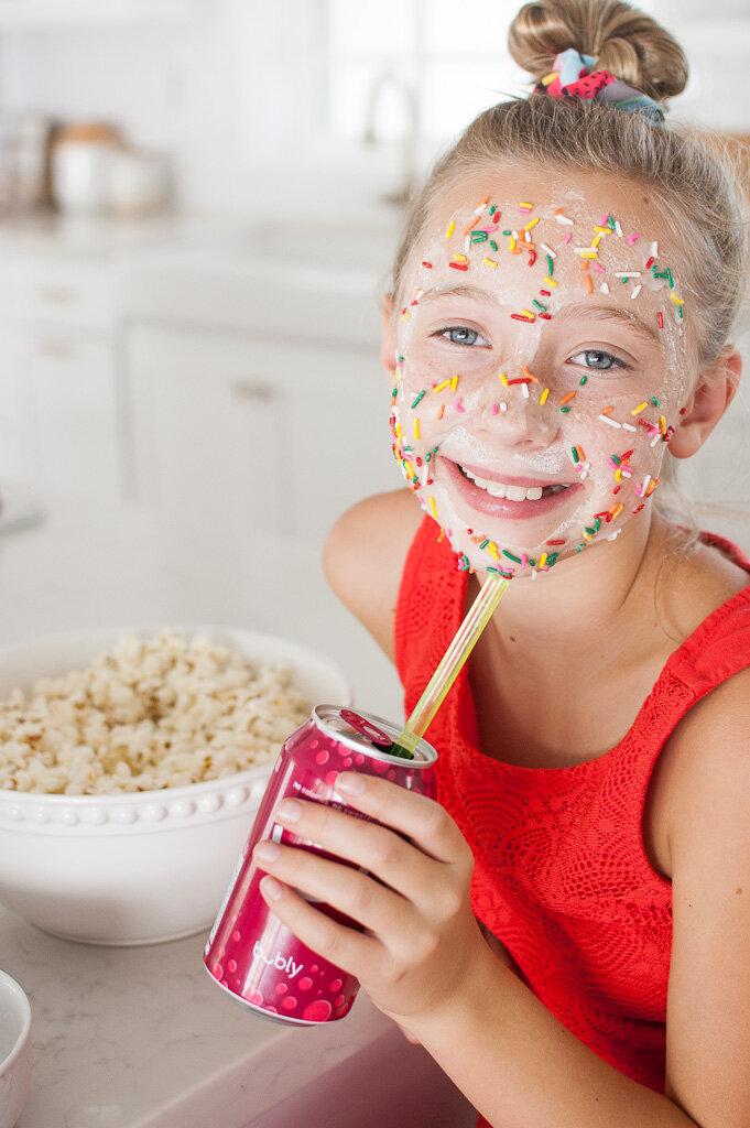 Edible masks