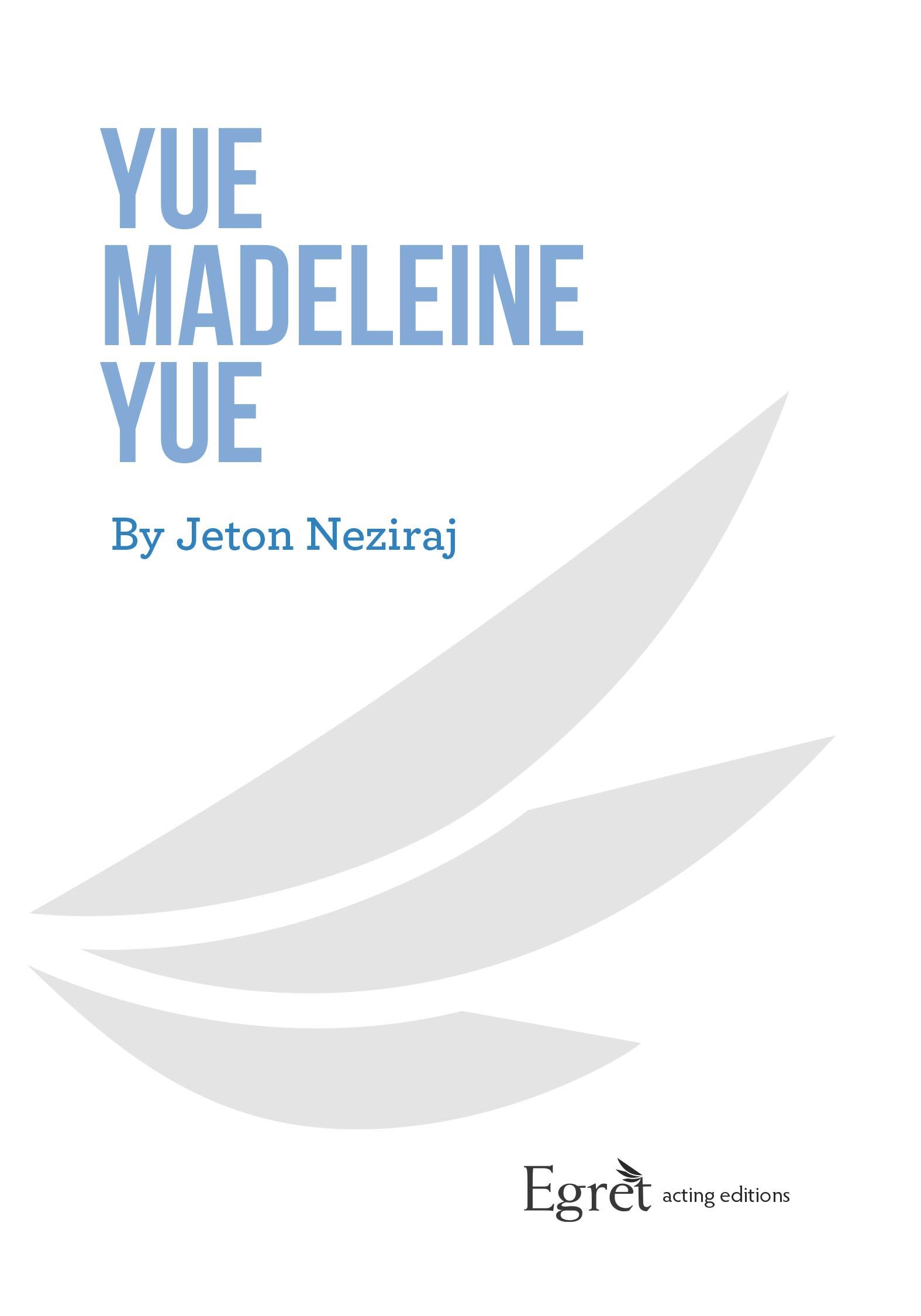 Translated from the Albanian by Ajkuna Hoppe