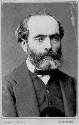 Bernhard Cossmann (1822-1910). Image credit: Wikimedia Commons