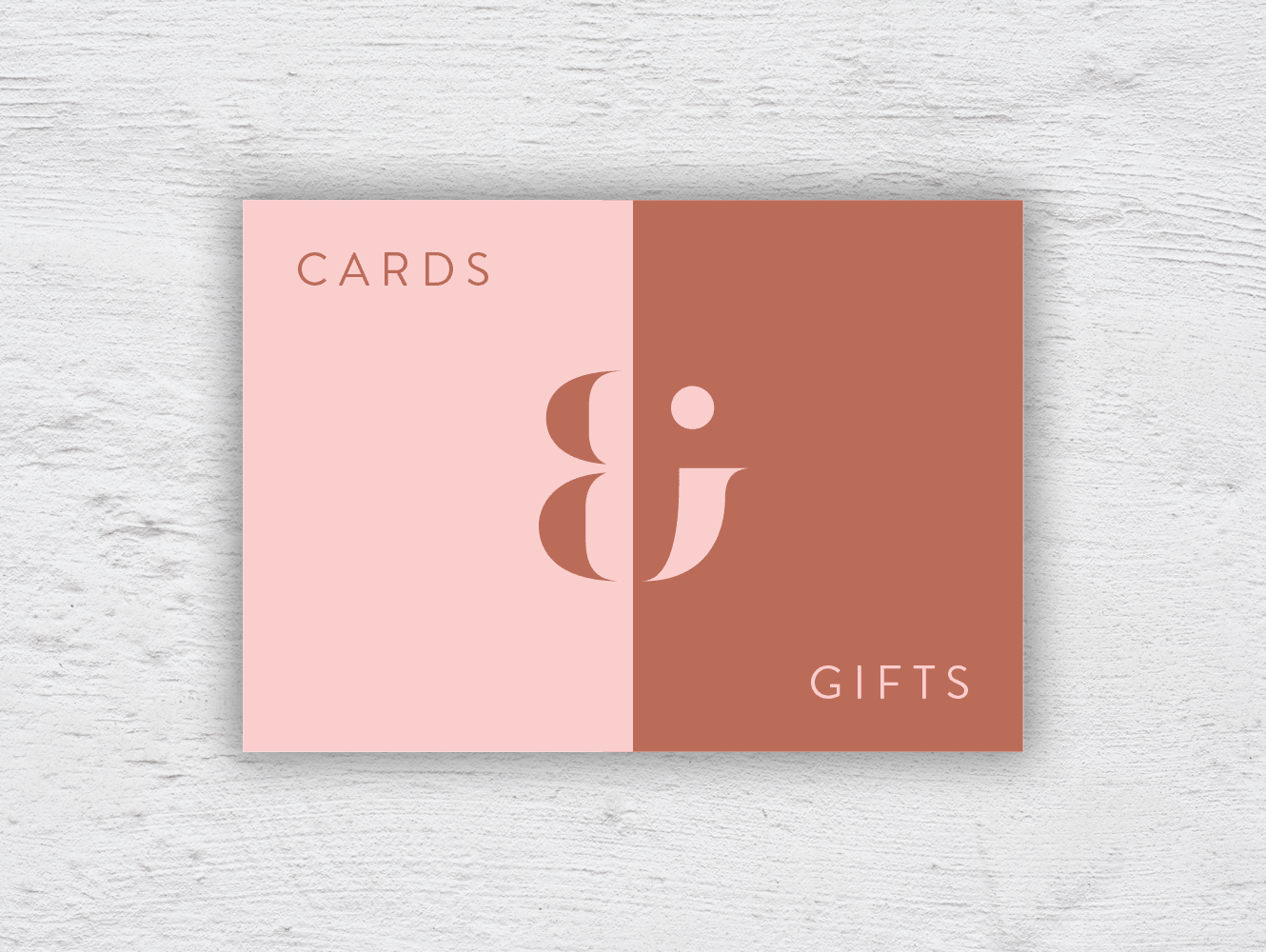 Cards + gifts sign 01