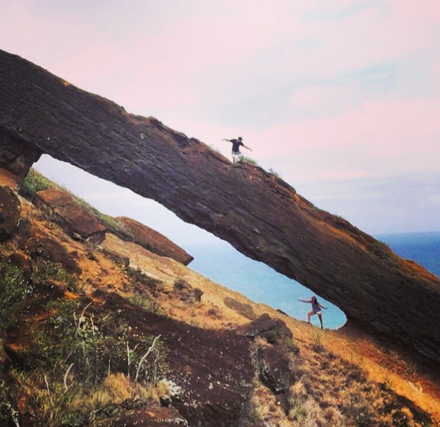 Koko Crater Arch Hike