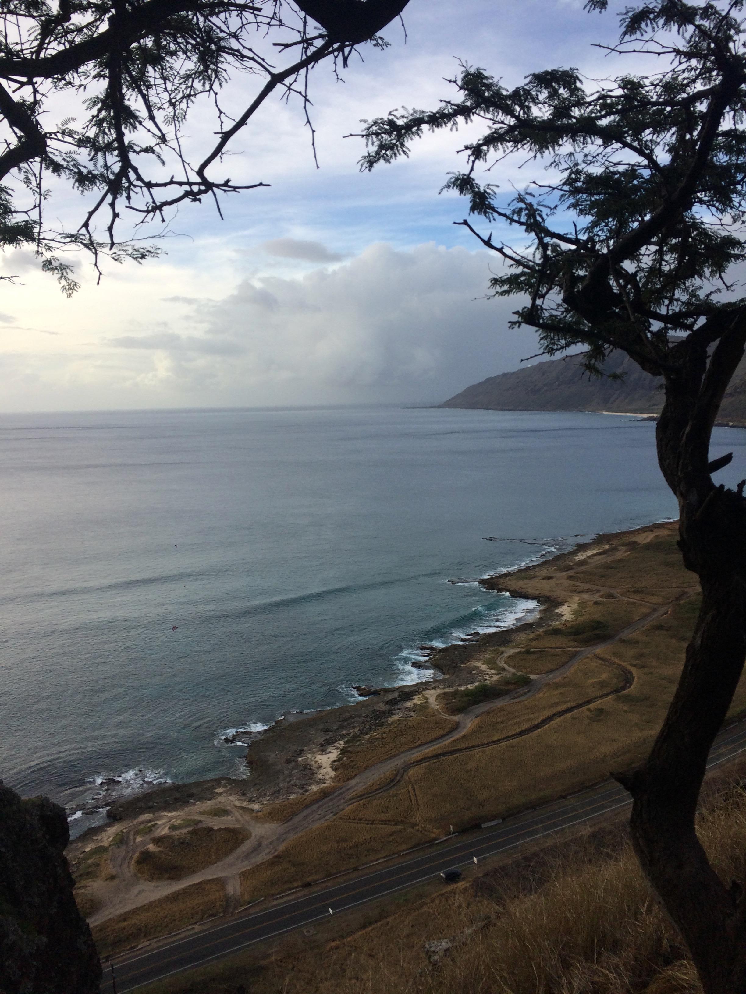 Makua Cave Hiking Oahu