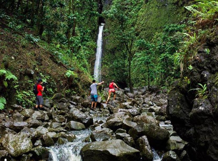 Sacred Falls Oahu