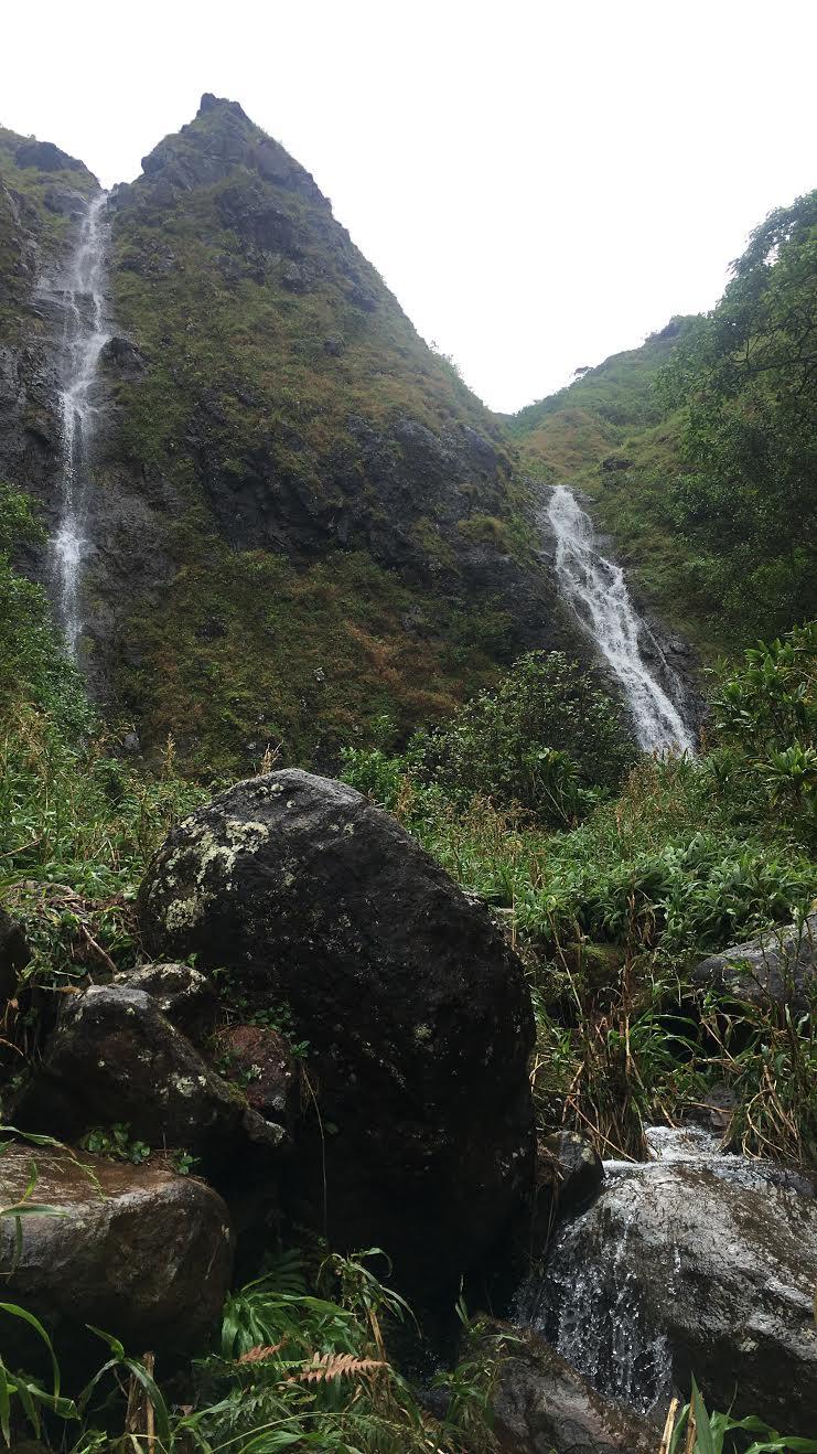 Pali Twin Falls