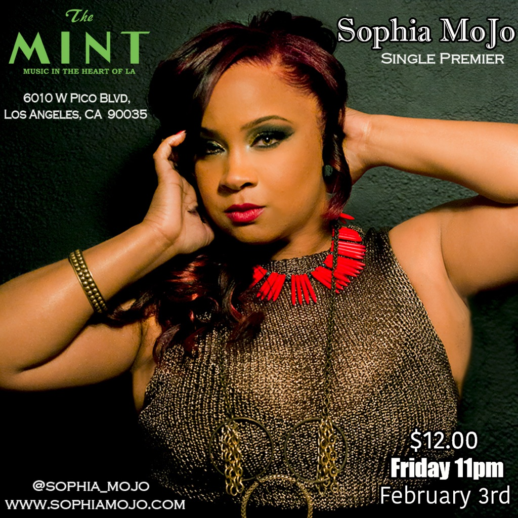 SophiaMoJo The Mint LA Flyer