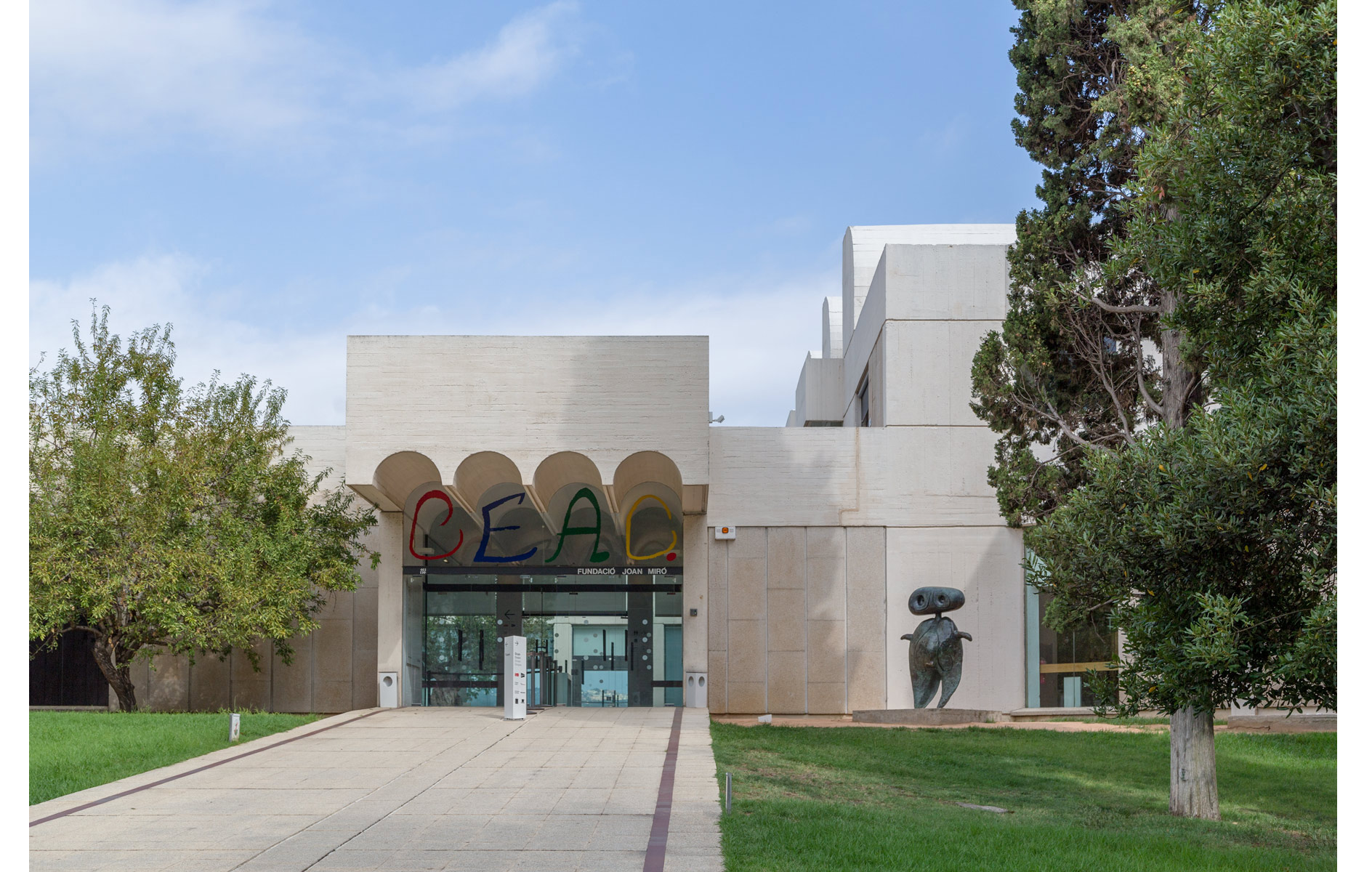 Miro foundation, Barcelona