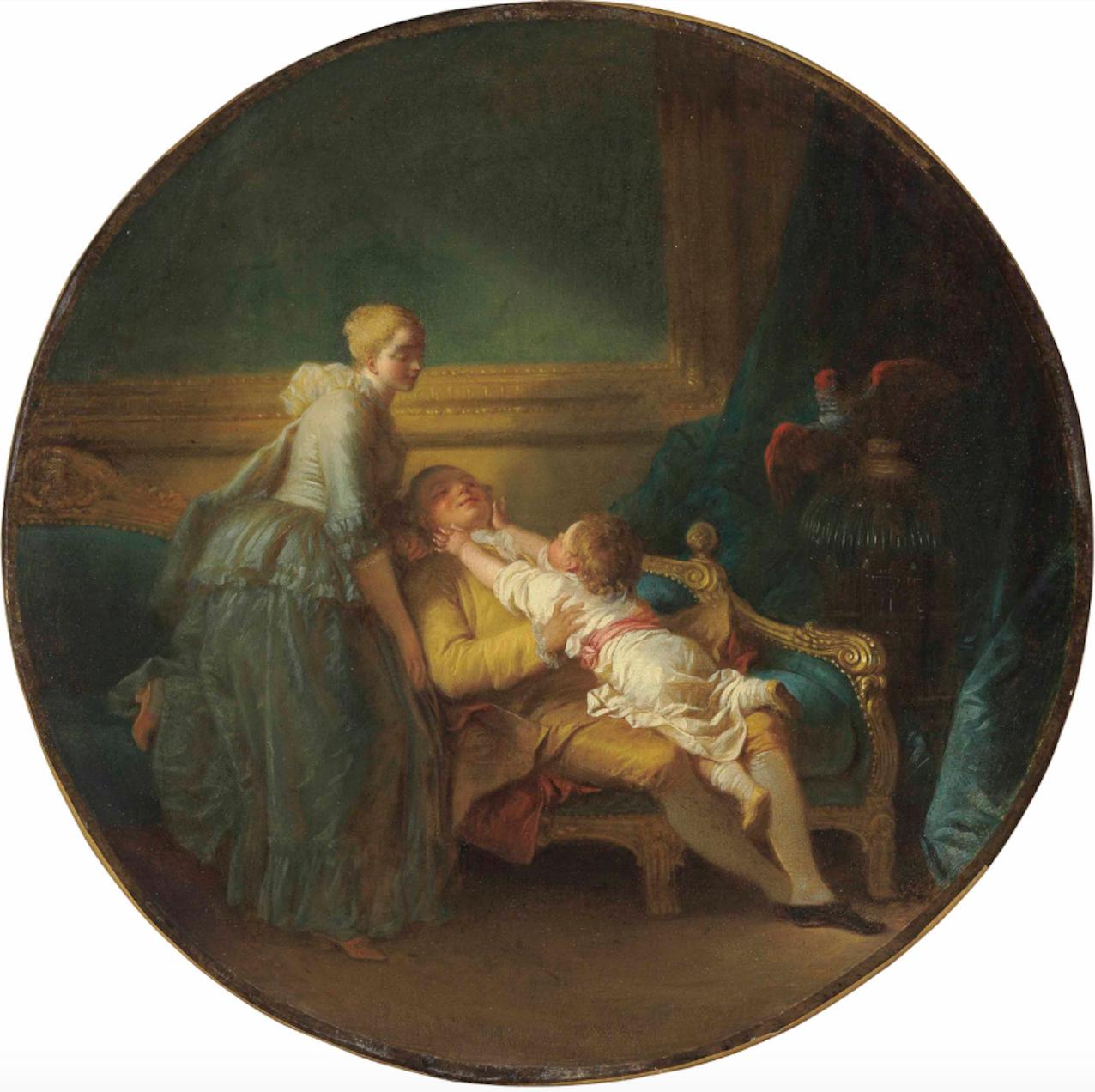 - Jean-Honoré Fragonard (Grasse 1732-1806 Paris)L'Heureux ménage ('The happy household')
