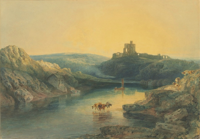 - J.M.W. Turner, R.A. (London 1775–1851 London)Norham Castle - Sunrise