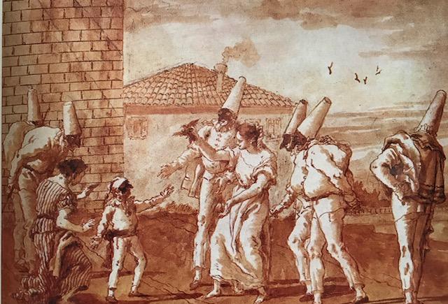 The Childhood of Punchinello , circa 1800