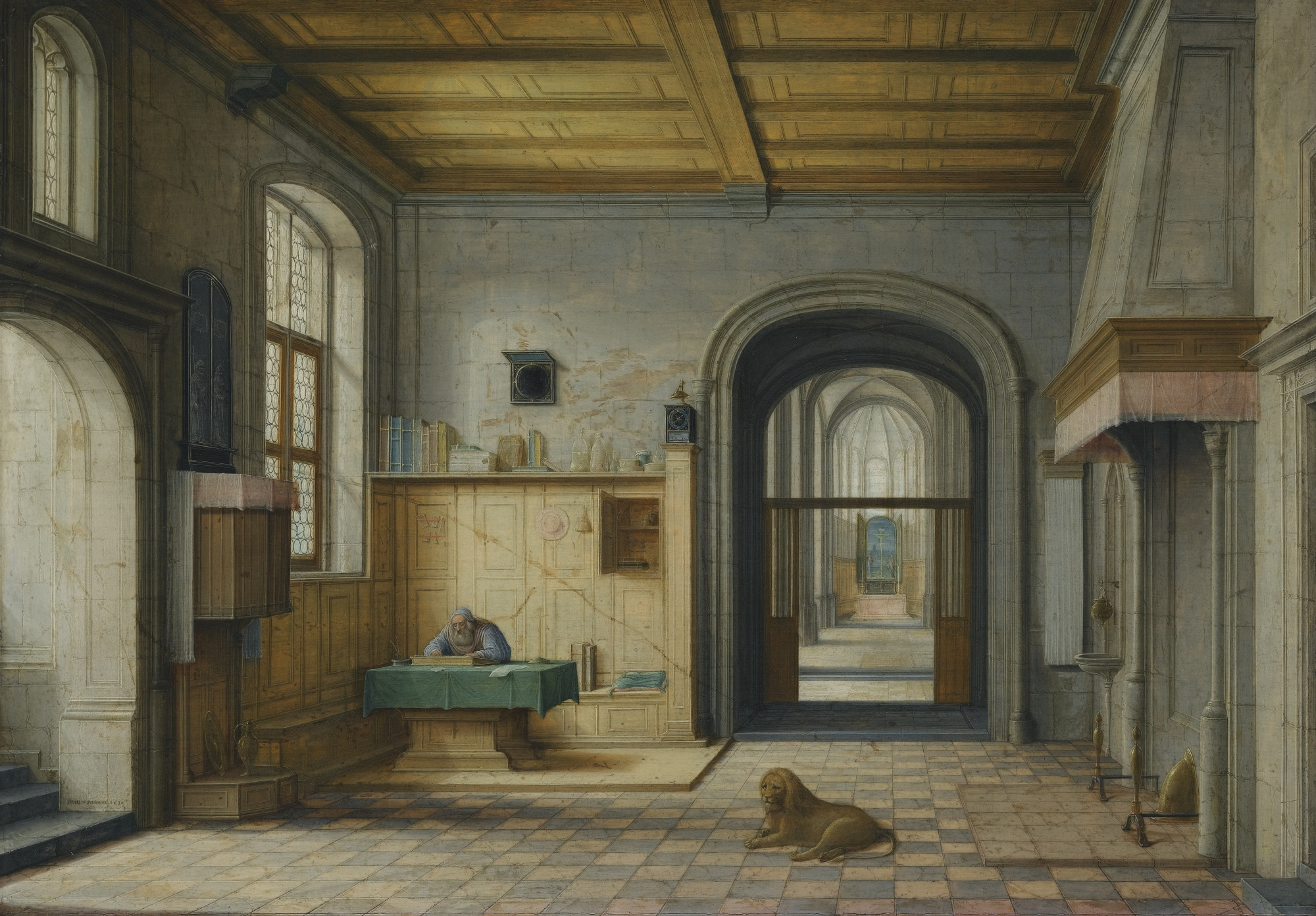 Saint Jerome in his Study , 1630
