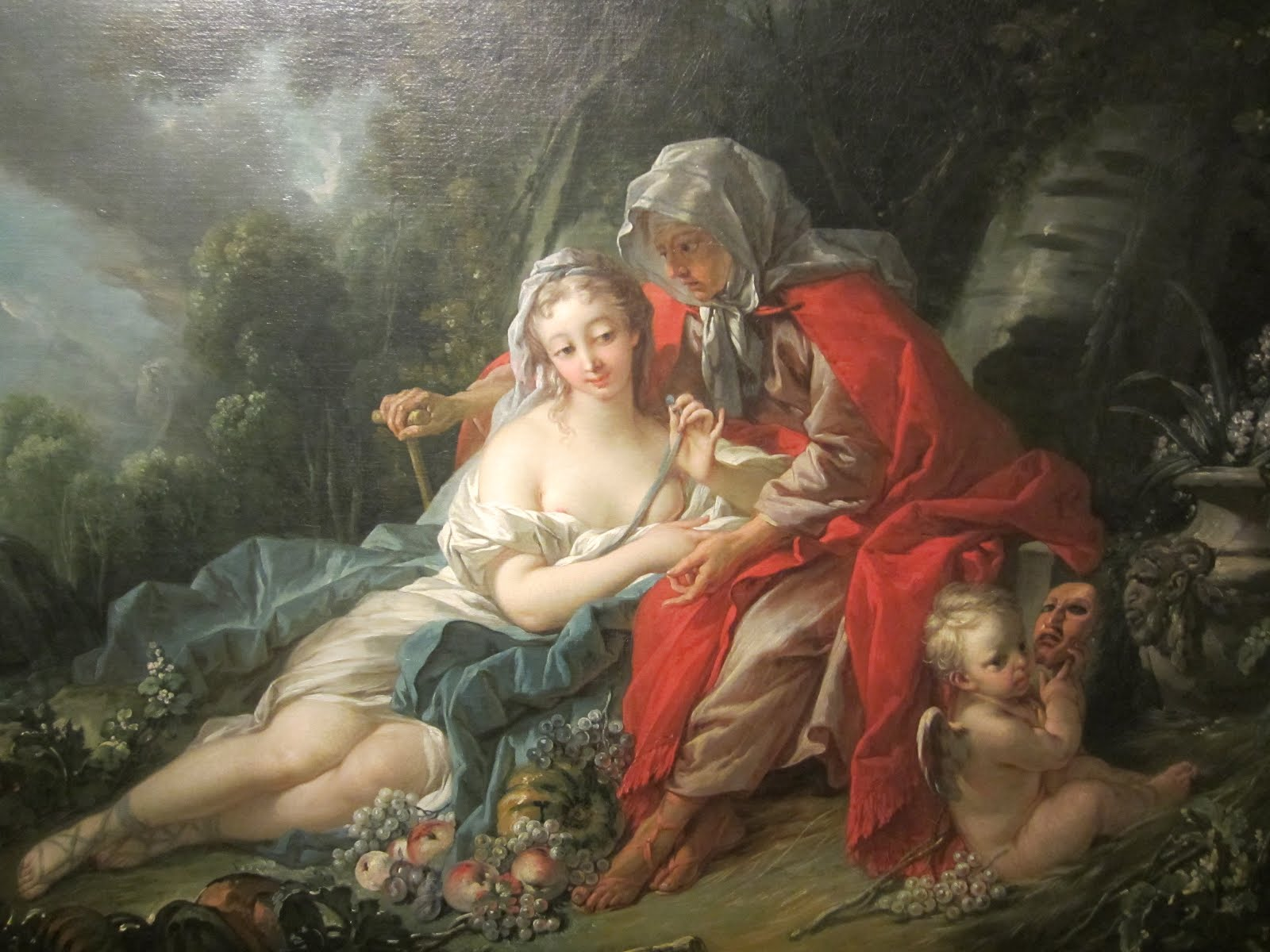 Earth: Vertumnus and Pomona , 1749