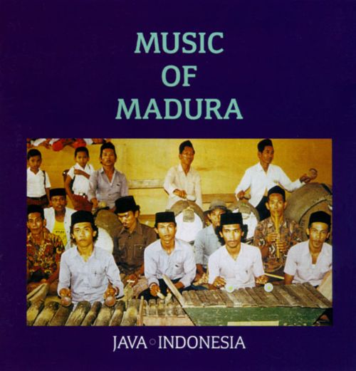"""Jack Body's Music in Java album with """" galundang """" on the cover"""