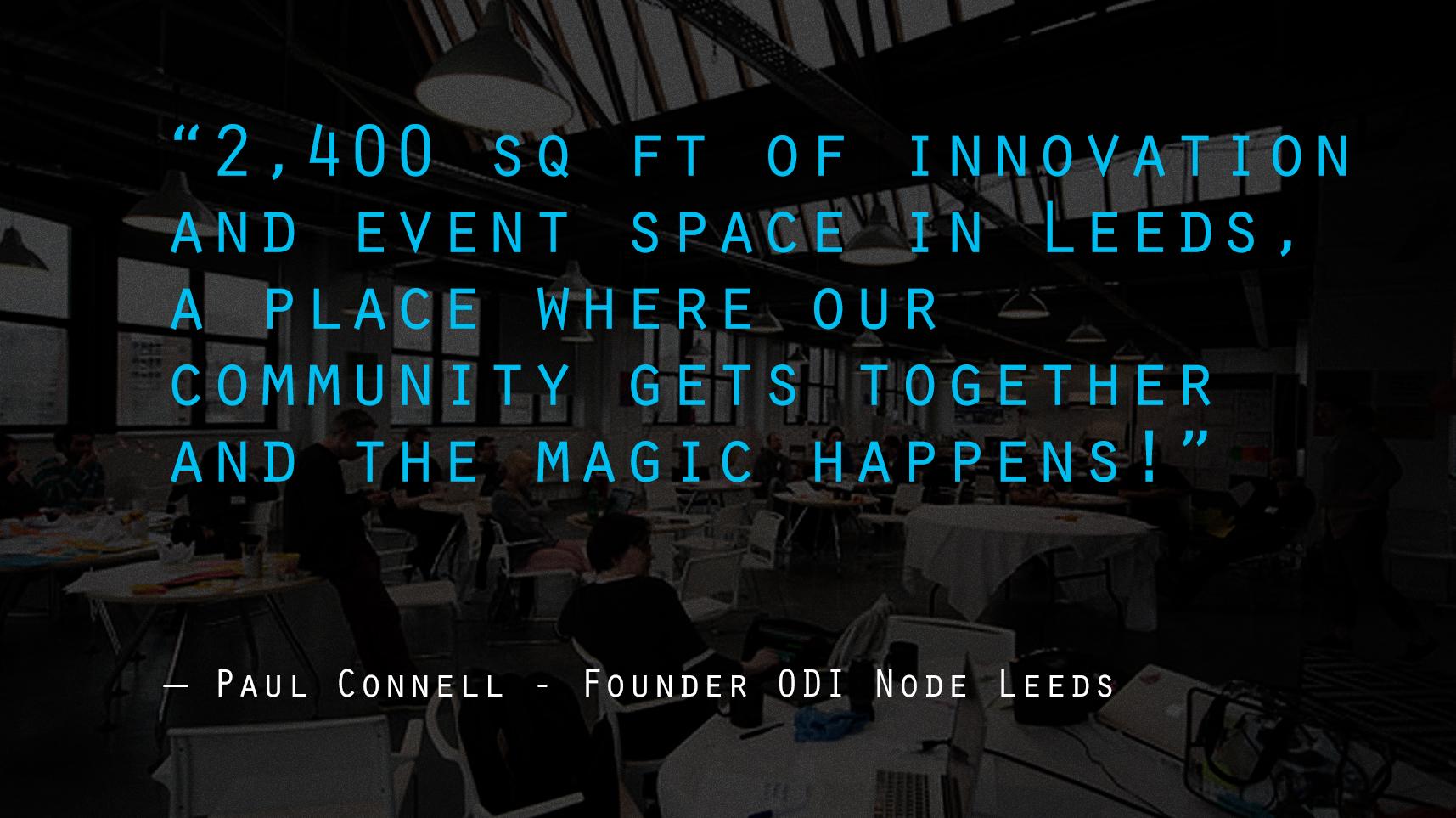 ODI Event Space Leeds