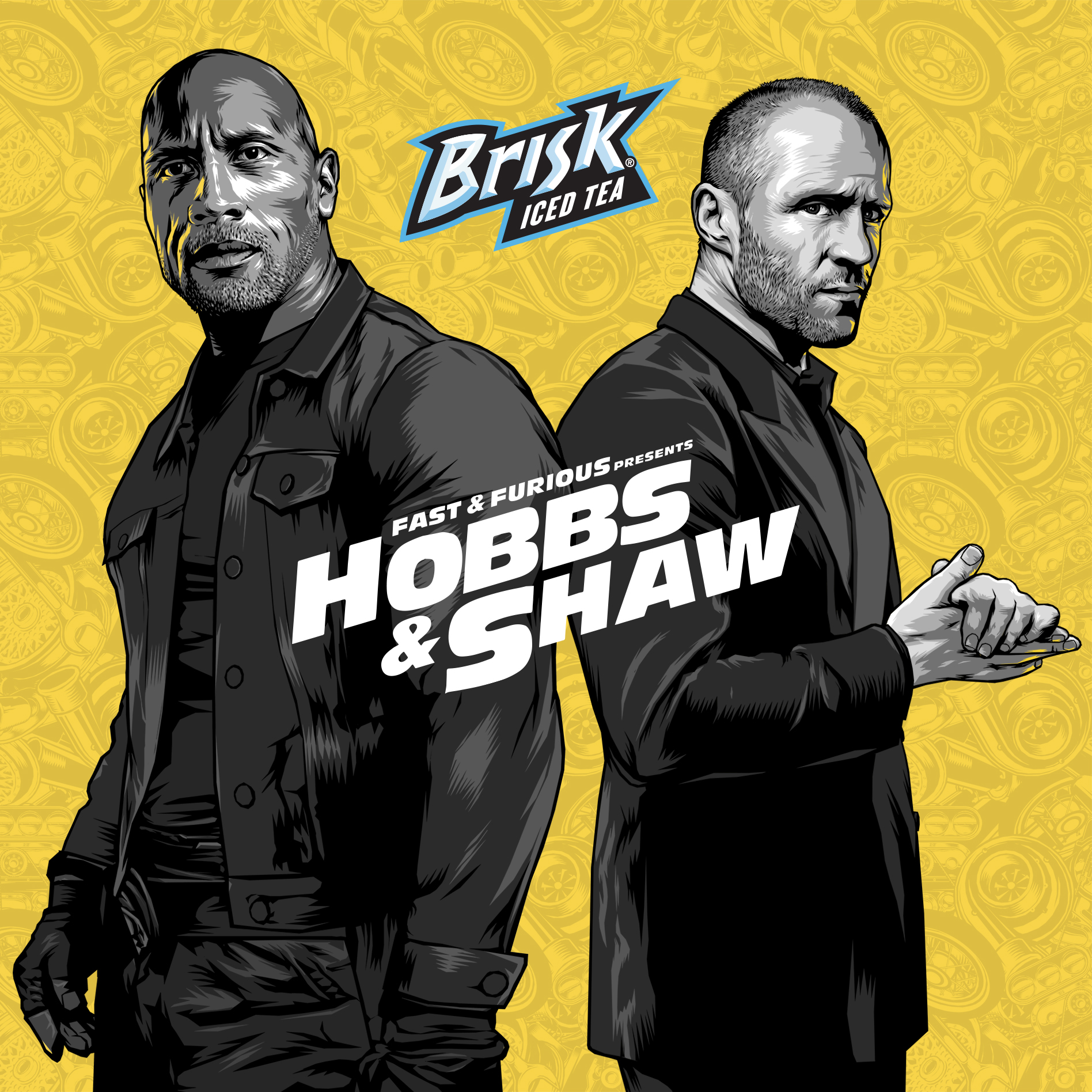 Hobbs and Shaw for Brisk Iced Tea