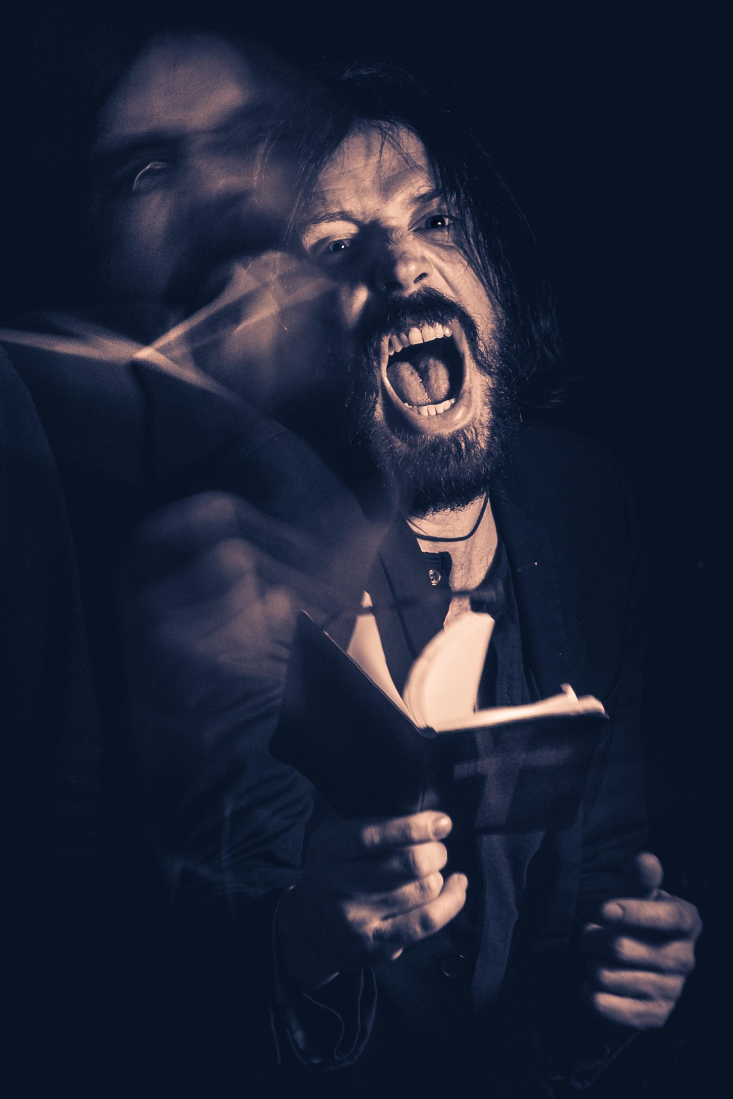 Bones Shake singer, David Brennan