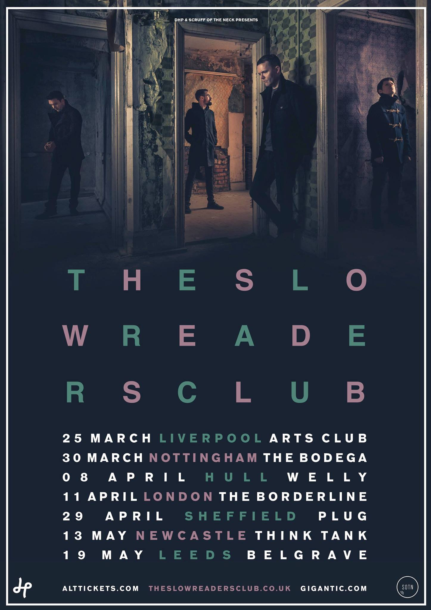 Slow Readers Club Tour Poster