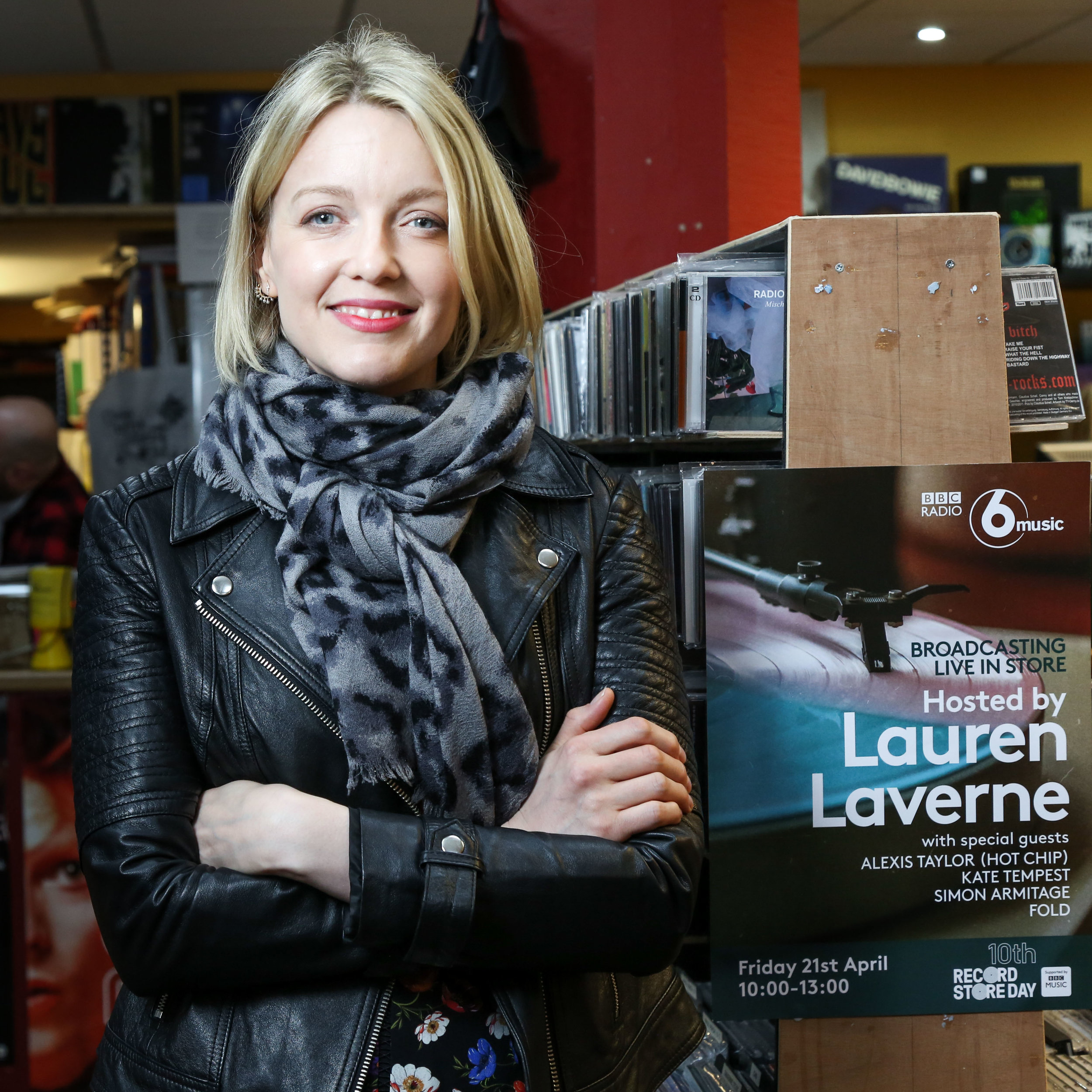 BBC 6 Music presenter, Lauren Laverne