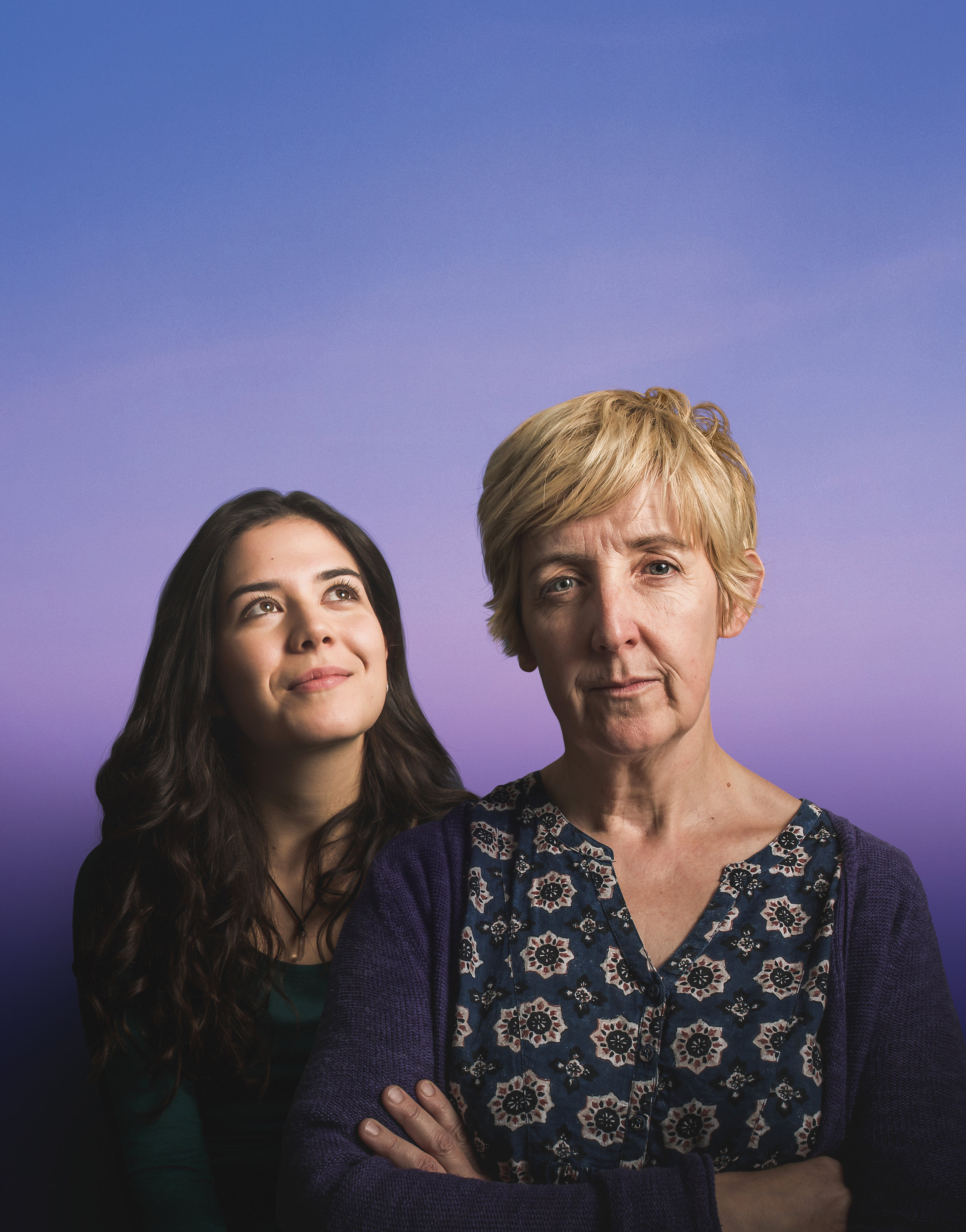 Julie Hesmondhalgh and Norah Lopez Holden
