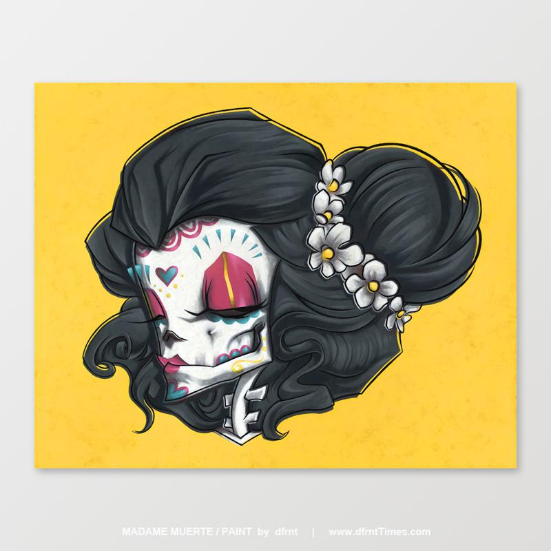 MADAME MUERTE / PAINT