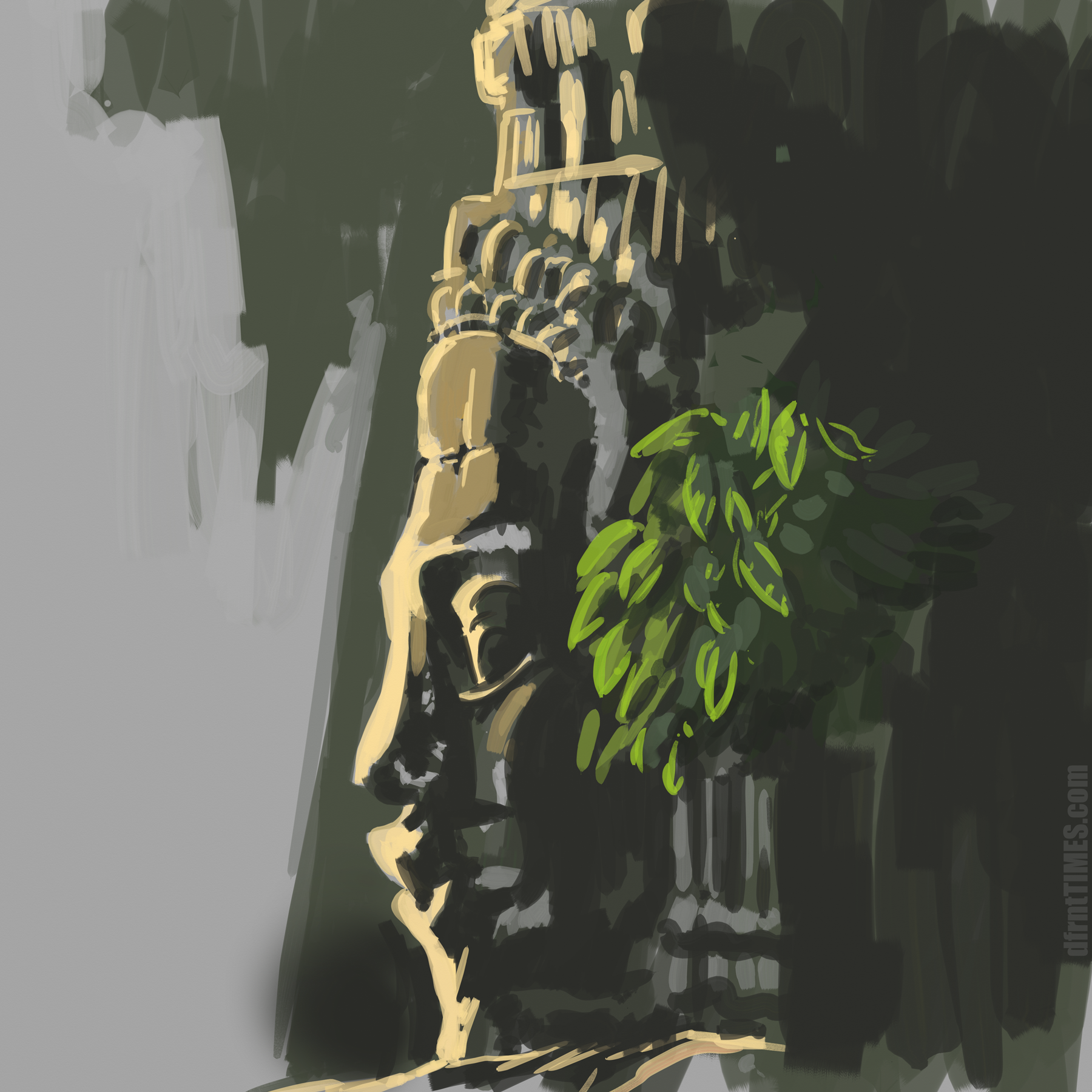 SKETCHY TUESDAYS - Tuesday nights is duo streaming with fellow artist Dante / a.k.a Artismyvoice on twitch. We mostly focus on studies, and encourage our viewers to join in and draw with us. Each week we focus on a new topic, tonight was 15-20 min landscapes. Check us out next Tuesday 6-8pm EST, on my Twitch channel dfrntTIMES-M