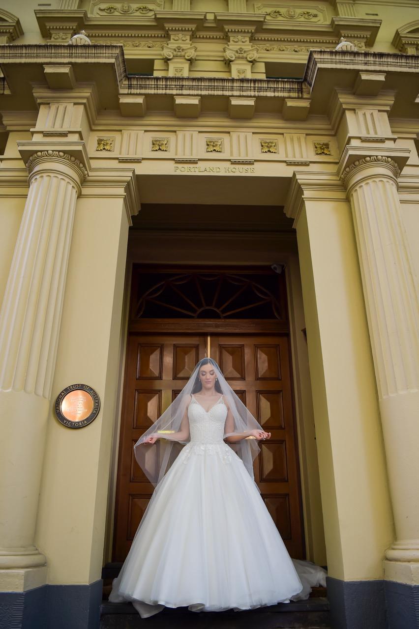 Photographer: Icon Photography Dress: Vincenzo Pintaudi Couture