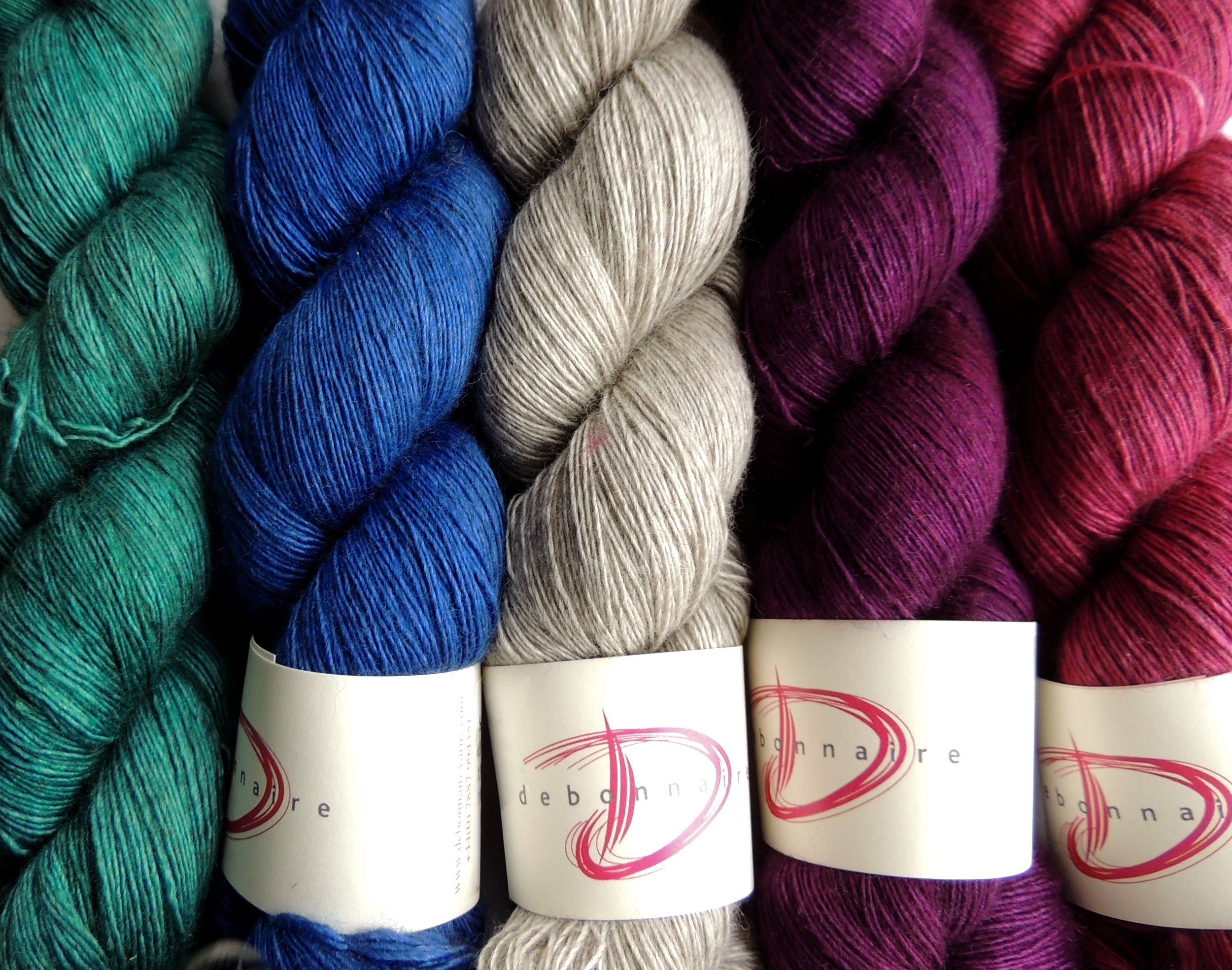 Squeal Lace Yarn- Yak, Silk and Merino singles