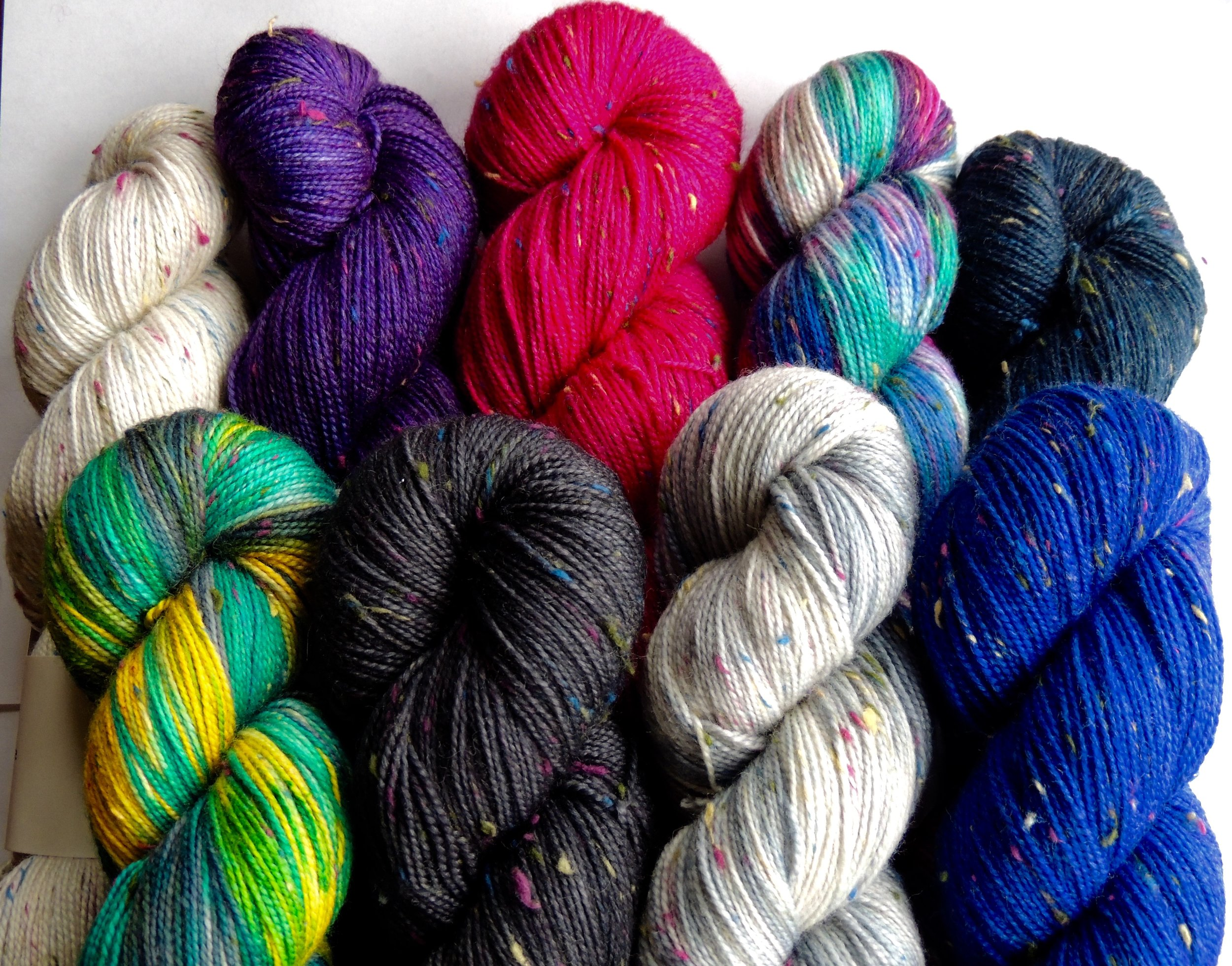 Donegal Dot Yarn