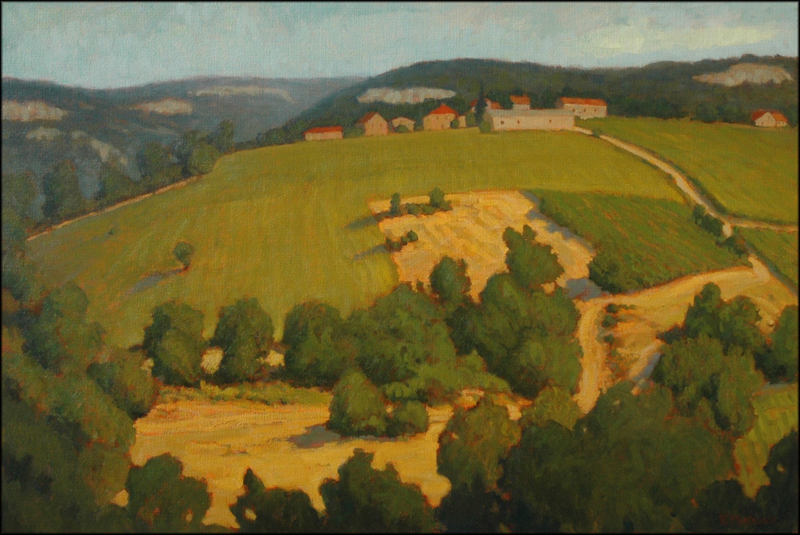 Coeur de Ferme, Lot Valley 24x36.jpg