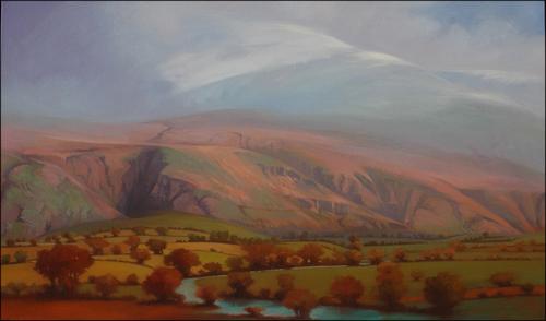 """Lake District  40x64"""",o/l"""