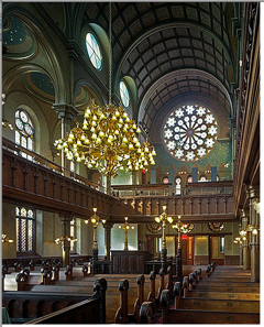 Eldridge Street Synagogue in NYC
