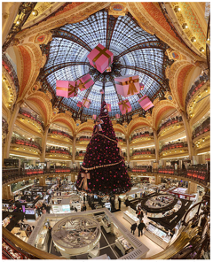 Christmas at Galleries Lafayette