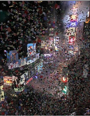 New Years Eve Times Square, NYC