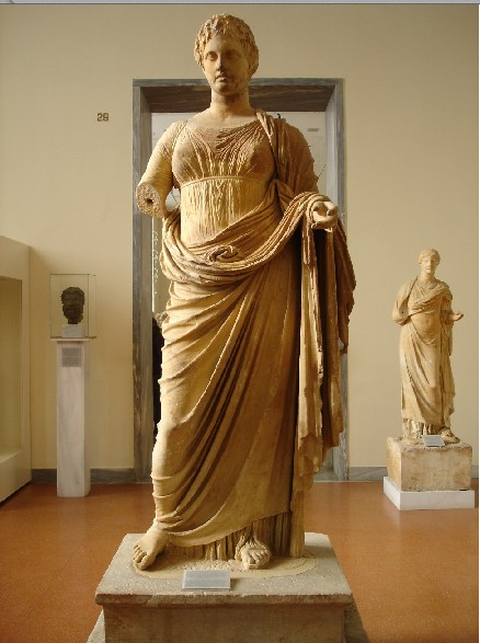 Thetis (personification of divine justice) Rhamnous. 300 BC