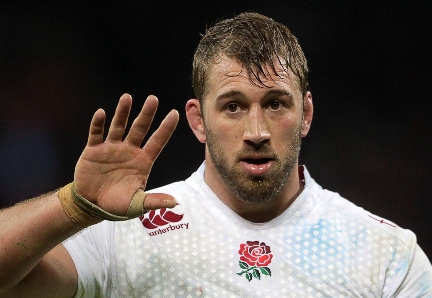 Chris Robshaw of England