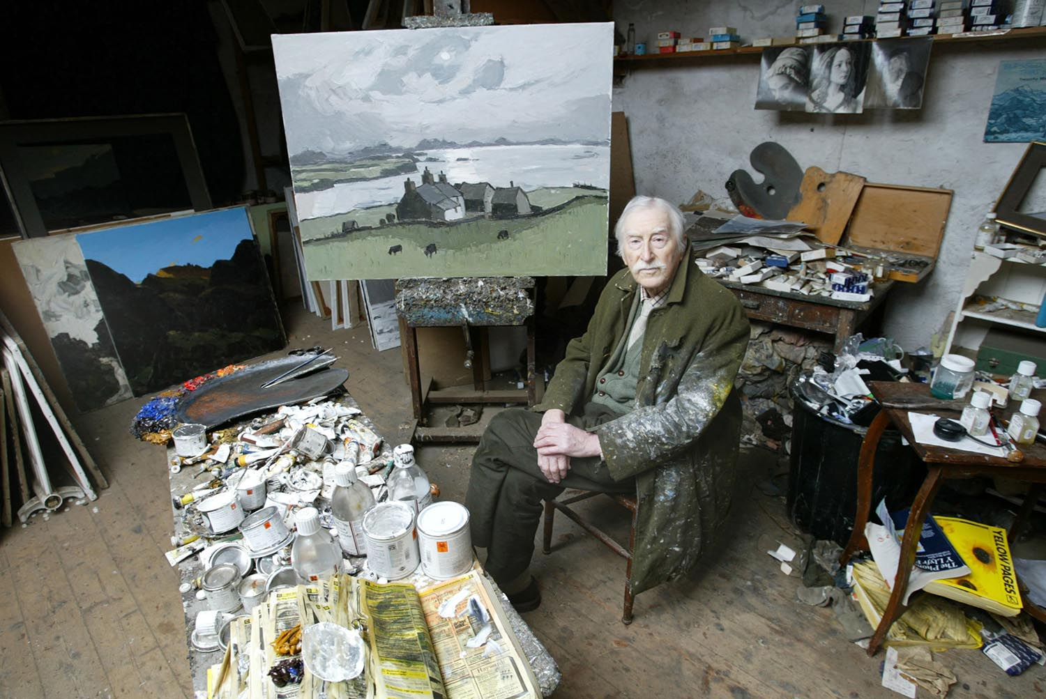 Sir Kyffin Williams for The Sunday Times