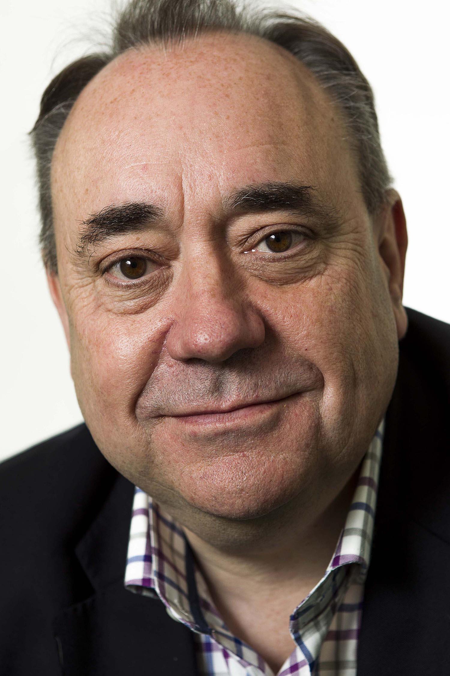 Alex Salmond at Hay Festival