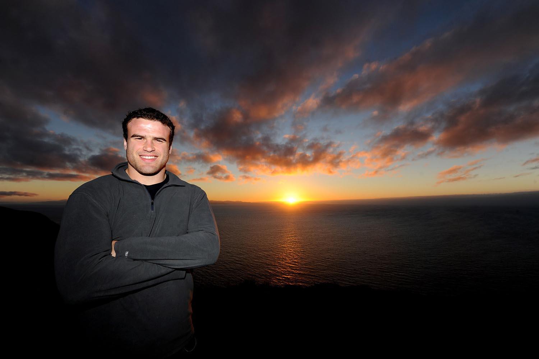 Jamie Roberts at Boomrock, Wellington