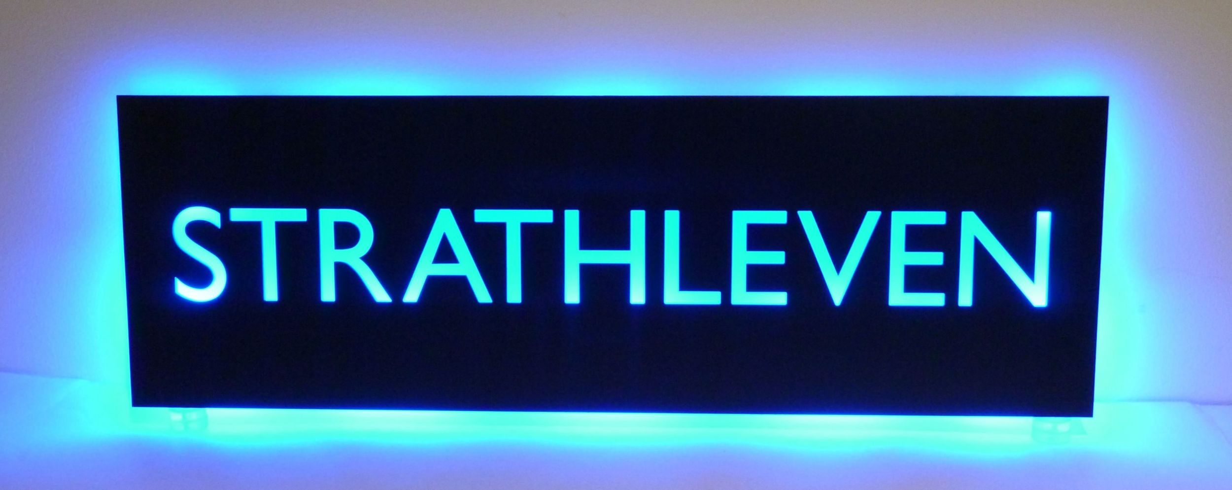 Copy of Multicoloured LED tray signs