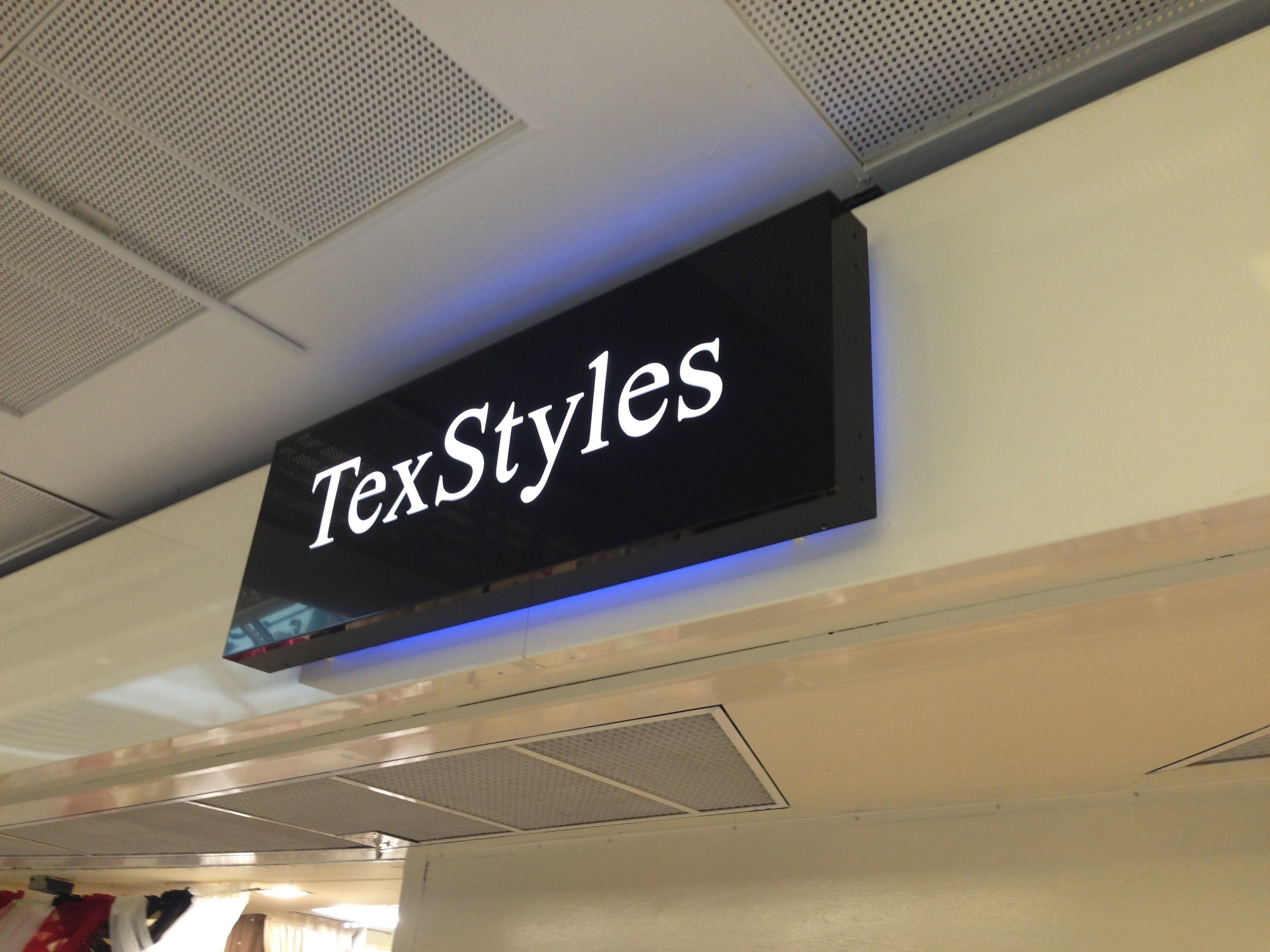 Copy of Backlit tray sign