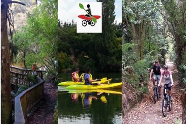 Tri-Venture : Hike, Cycle, Paddle