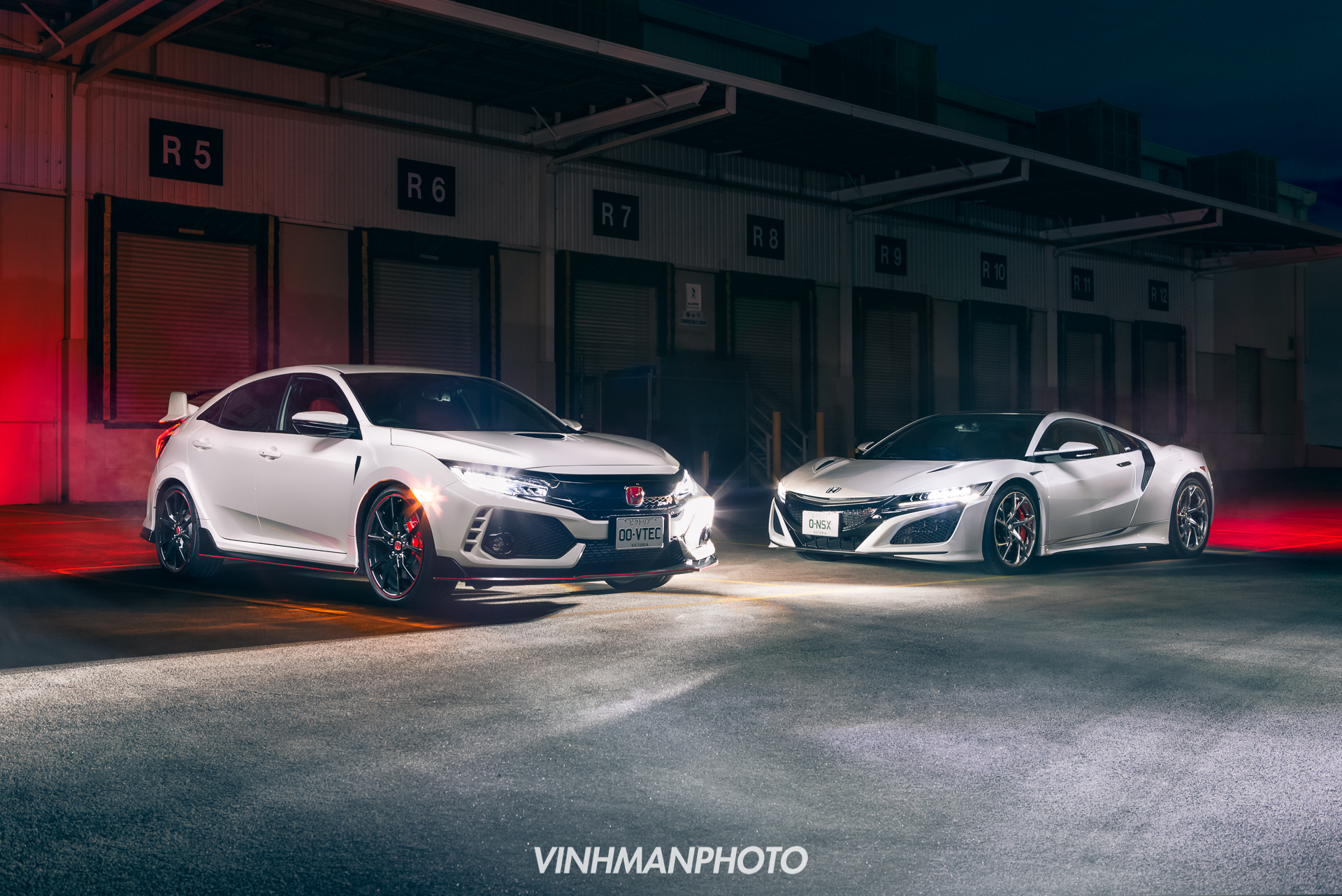 2018 Honda NSX & Civic Type-R