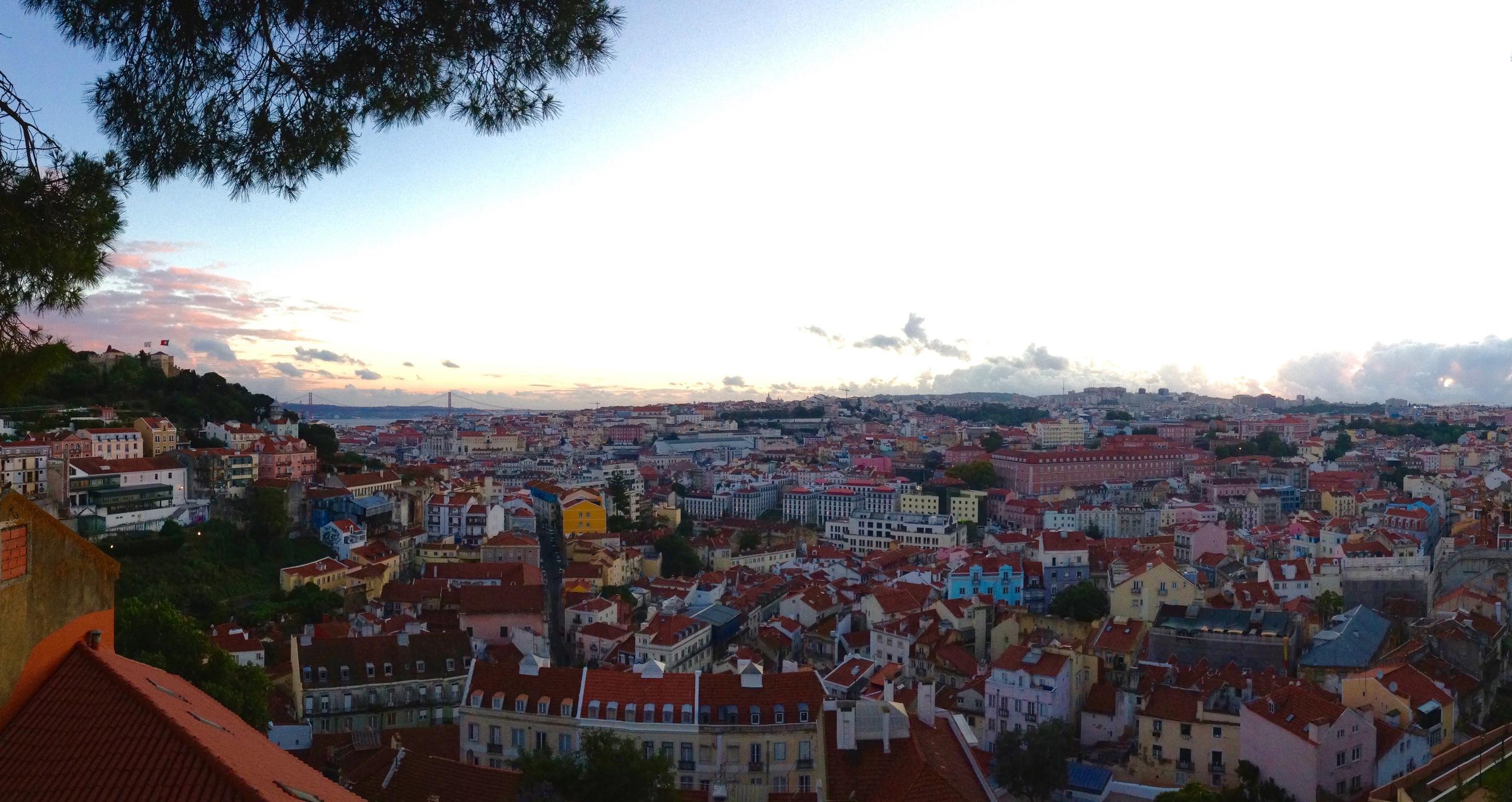 Lisbon, from the Miradouro da Graça, Portugal